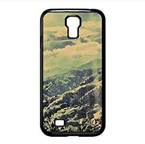 Mountain Winter Scenery, HDR Watercolor style Cover Samsung Galaxy S4 I9500 Case (Winter Watercolor style Cover Samsung Galaxy S4 I9500 Case)