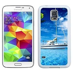 Amazing Paradise Corner (2) Hard Plastic Samsung Galaxy S5 I9600 Protective Phone Case