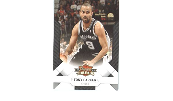 a15899ad722 Amazon.com: 2009 Panini Threads Basketball Card (2009-10) IN SCREWDOWN CASE  #19 Tony Parker Mint: Collectibles & Fine Art