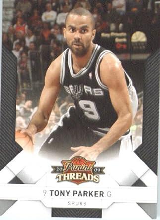 0f3670f8539 2009 Panini Threads Basketball Card (2009-10) IN SCREWDOWN CASE #19 Tony