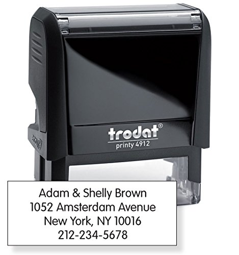 Trodat 4912 Inking Rubber Stamp product image