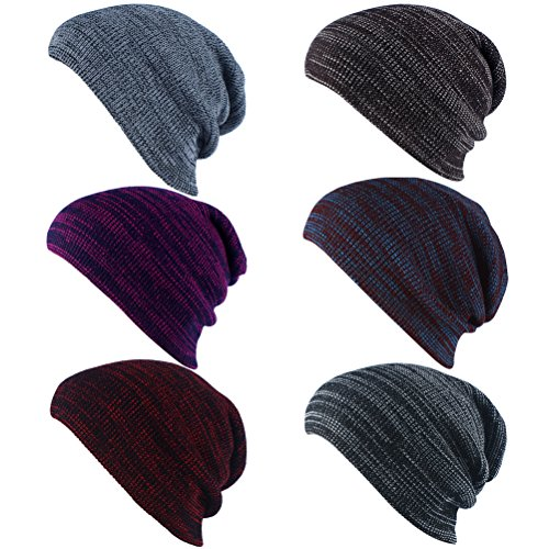 Slouchy Long Zhhlaixing Wine Warm Red Skull Womens de Mens Cap Oversized Beanie Knit Hat punto Gorros Ski xqnwqCA0z