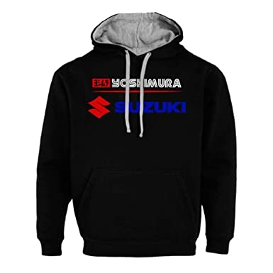 3fd82a441932 Suzuki Yoshimura Racing Motosport Sweats à Capuche Sweat-Shirt ...