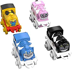 Fisher-Price Thomas & Friends MINIS/Mighty Morphin Power Rangers, 4-Pack