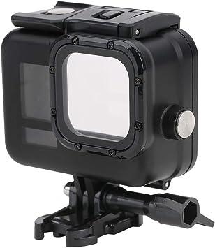 Topiky Estuche de Buceo Action Camera, 60 m/196.85 pies Estuche de Buceo Impermeable con cámara de acción para cámara de acción Negra gopro Hero 8: Amazon.es: Electrónica