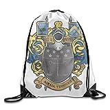 Nollm Coat Of Arms Color Large Drawstring Sport Backpack Sack Bag Sackpack