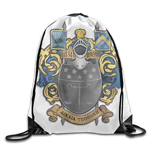 Nollm Coat Of Arms Color Large Drawstring Sport Backpack Sack Bag Sackpack by Nollm (Image #1)