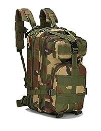 OBO Bands Sport Outdoor Military Rucksacks Tactical Molle Backpack Camping Hiking Trekking Bag
