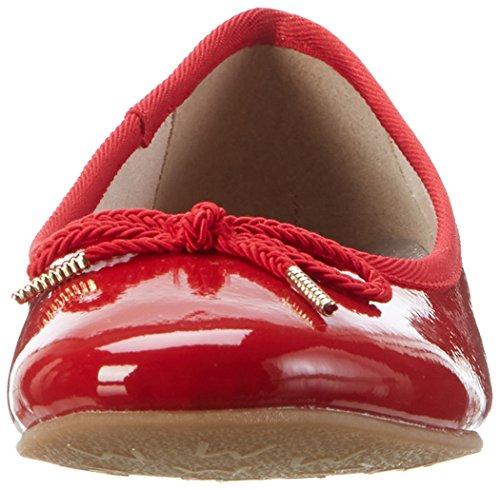 Tamaris 22123, Ballerines Femme, Rouge (Chili Patent 520), 41 EU