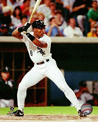 Bo Jackson Chicago White Sox MLB Action Photo (Size: 8