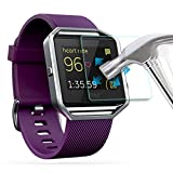 AWINNER ,Fitbit Blaze Glass Screen Protector Premium HD Clear Tempered  Glass with Free Lifetime Replacement Warranty / Ultra High Definition  Invisible