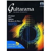 Partition : Guitarama - Guitare solos et duos - Volume 2A - Partition + CD