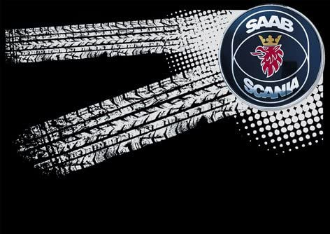molda184 Saab Scania LKW Auto Logo Car Casquette de Baseball k062 Noir Taille Unique