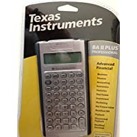 Texas Instruments TI BA II Plus Professional Financial Calculator