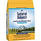 Natural Balance Puppy Formula L.I.D. Limited Ingredient Diets Dry Dog Food, Potato & Duck Formula, Grain Free, 12-Pound