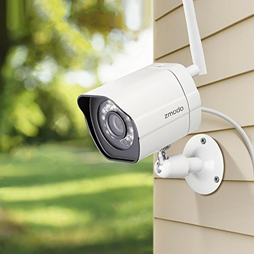 Zmodo Wireless Security Camera System & 6-Month Cloud Storage - All  Inclusive CamCloud Bundle - Smart HD Outdoor WiFi IP Cameras with Night  Vision