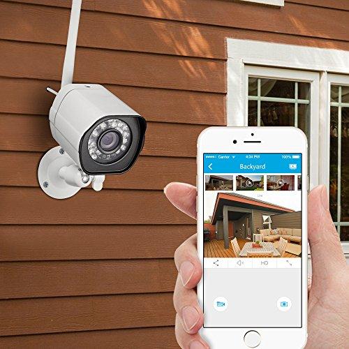 Zmodo 720p Hd Wifi 8ch Nvr Outdoor Weatherproof Video Import It All