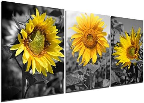 Wall Art Home Decor Sunflower Art//Canvas Print Poster