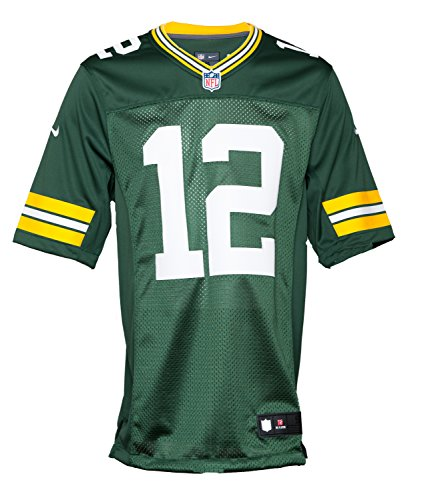 Nike Mens Green Bay Packers Limited Team Jersey Aaron Rodgers 468922-323 (Aaron Rogers Green Bay Packers)