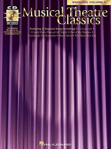Musical Theatre Classics, Soprano / Book & online audio / Vol 2