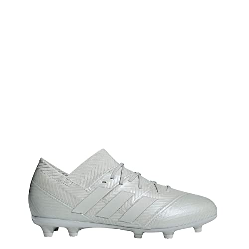 3b332ad0c93 adidas Nemeziz 18.1 Firm Ground Cleat - Kid s Soccer 2.5 Ash Silver White  Tint