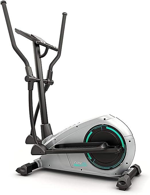 Bluefin Fitness Curv Mini Bluetooth Under-Desk-Crosstrainer Einstellbarer Widerstand Pedal-Trainingsger/ät f/ür Zuhause Leiser Schwungradmotor FitShow App-kompatibel LCD-Bildschirm