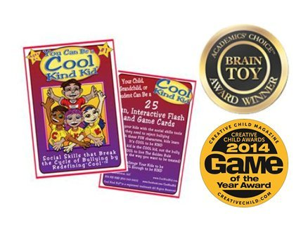Cool Kind Kid Flash and Game Cards, Social Skills and Anti-Bullying Tools