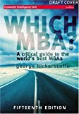 Which MBA?, George Bickerstaffe, 0273688006
