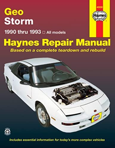 51S9PZXBWSL._SX387_BO1204203200_ geo storm automotive repair manual 1990 thru 1993 inc haynes 1990 geo storm wiring diagram at edmiracle.co