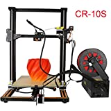 [New Arrival] Creality CR-10S Updated with dual Z axies leading screw rod and filament alarming function Large printing size 11.8'' x 11.8'' x 15.8'' DIY Self-assembly Desktop 3D Printer Kits