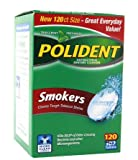 1 pack of Polident Smokers Denture Cleanser