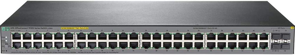 HP JL386A E 1920S 48G 4SFP Ppoe+ 370W Switch