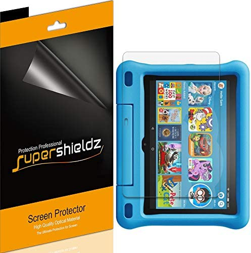 (3 Pack) Supershieldz for All-New Fire HD 8 Kids Edition Tablet 8 inch (tenth Generation - 2020 Release) Screen Protector, High Definition Clear Shield (PET)