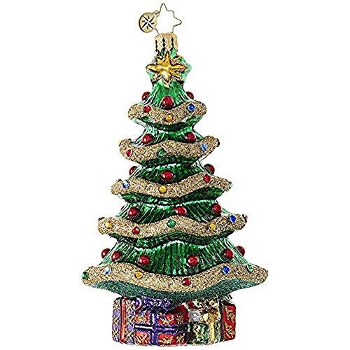 Christopher Radko Garlands (Christopher Radko Garland Christmas Tree Glass Christmas Ornament - 5.5
