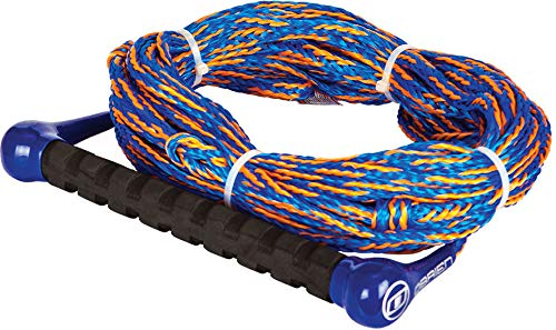 (O'Brien 1-Section Combo Waterski Rope Blue/Orange Sz 75ft)