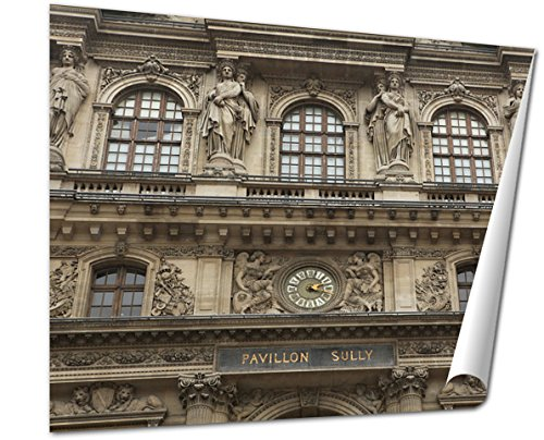 Ashley Giclee, Renaissance Facades Of The Louvre Museum In Paris France, 24x30 Print