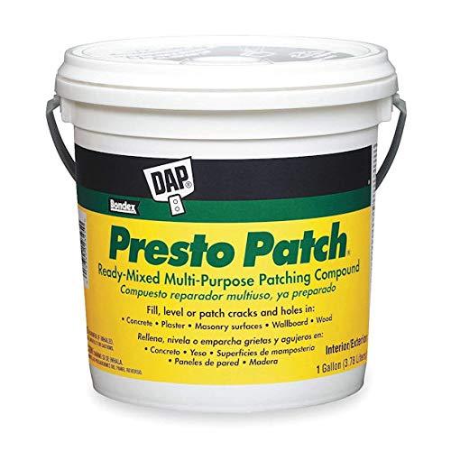 Presto Patch - DAP 7079858555 Presto Patch Ready Mix Ga Raw Building Material White