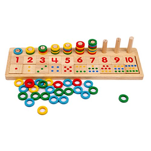 Xin store Wooden Montessori Math Board Shape Sorter Preschool Educational Toys for Kids