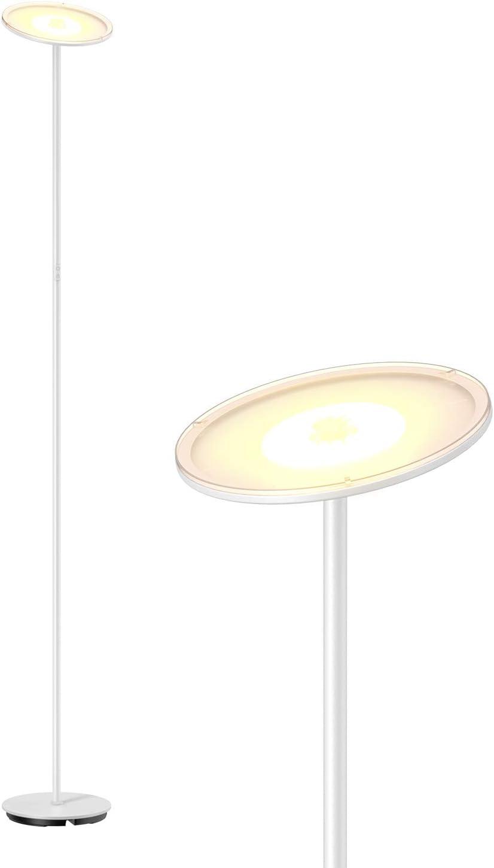 Gladle Stehlampe Led Deckenfluter Dimmbar Stehleuchte Fur