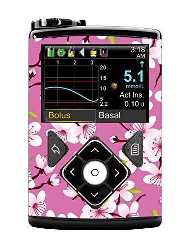 Medtronic 640G Vinyl Sticker (Cherry Blossom)