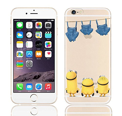 7 opinioni per iCHOOSE iPhone 6S Caso / Minions Fumetto Gel Caso per Apple iPhone 6s 6 /