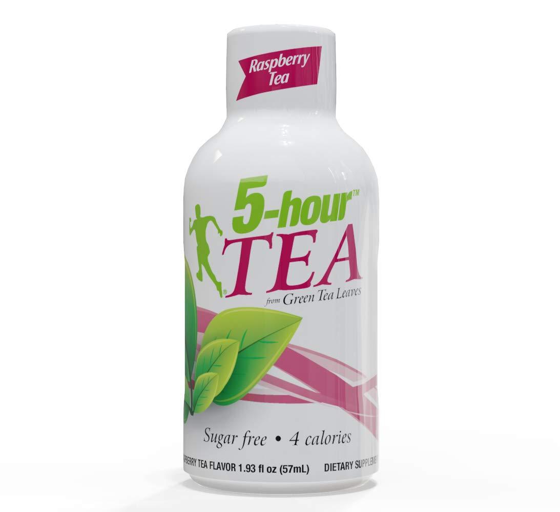 5-hour TEA, Raspberry Tea Flavored Energy Shot, 1.93 Once, 24 Count