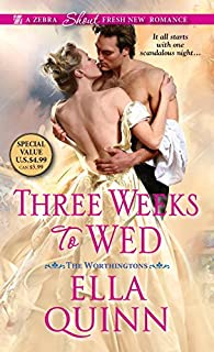Book Cover: Three Weeks To Wed