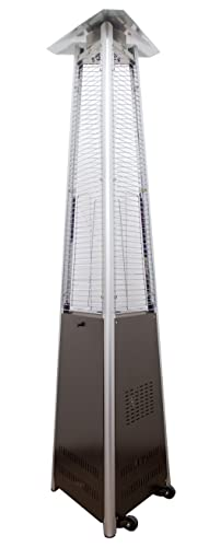 AZ Patio Heater - Natural Commercial Glass Tube Patio Heater