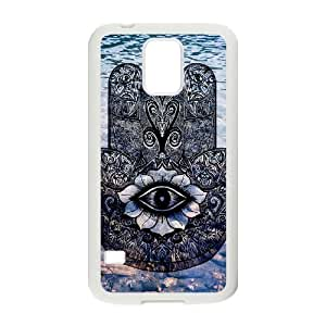 Customized Cover Case with Hard Shell Protection for SamSung Galaxy S5 I9600 case with Hamsa lxa#240666