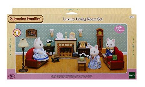 Sylvanian Families Luxury Living Room Set Dollhouses Amazon Canada