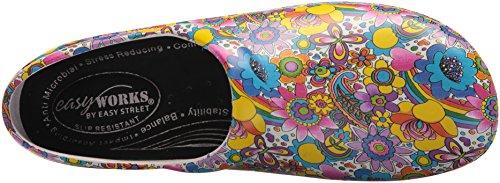 Women's Kris Works Shoe Professional Fabric Easy Bright Multi Health Care 5PTHxqg