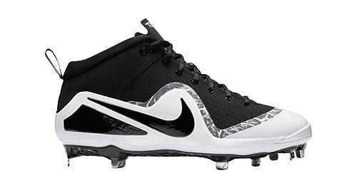 1cd06e4e194b4 Nike Mens Force Zoom Trout 4 Black Black-White Size 9