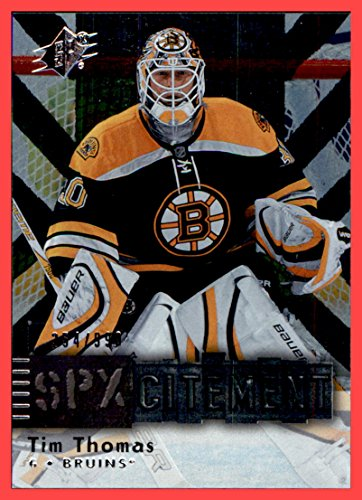 2009-10 SPx SPXcitement #X58 Tim Thomas BOSTON BRUINS, used for sale  Delivered anywhere in USA