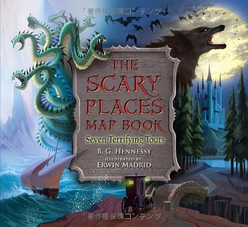 The Scary Places Map Book: Seven Terrifying (Halloween Activities In Chicago)